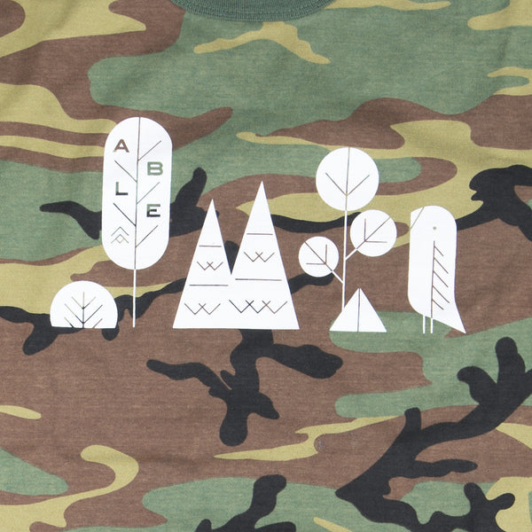 Able Seedhouse + Brewery Camo Kamp T-Shirt