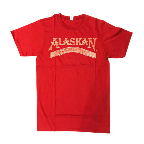 Alaskan Brewing Co. Wood Grain Logo T-Shirt