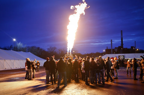 Winter Beer Dabbler Fire • Aaron Davidson
