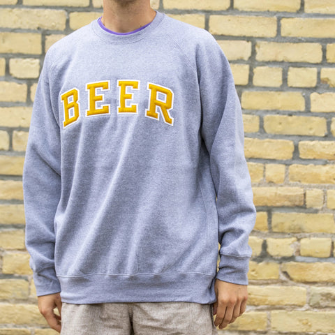 4, 5, 6. BEER Crewneck Sweatshirt