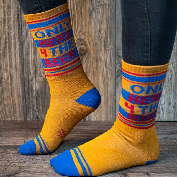 Only Here 4 the Beer Crew Socks