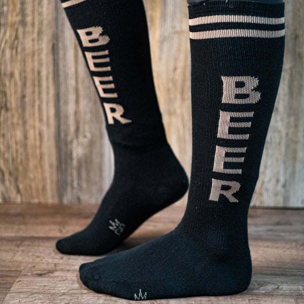 Beer Knee High Gym Socks