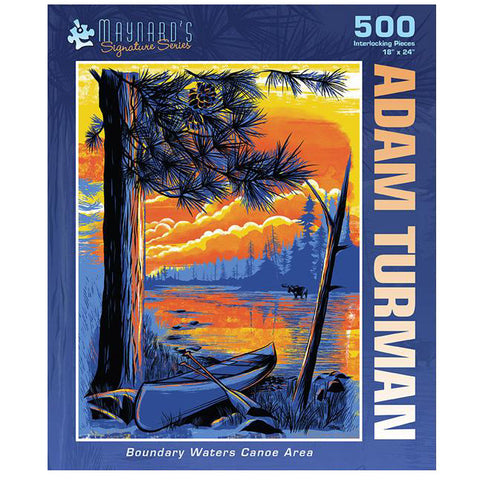 Boundary Waters Canoe Area Puzzle