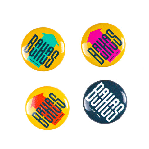 Bauhaus Brew Labs Pins