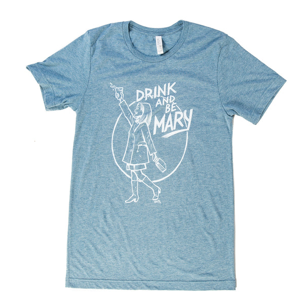 "Beer Dabbler ""Drink and be Mary"" T-shirt"
