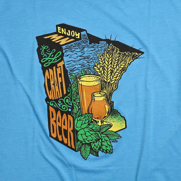 Enjoy MN Craft Beer T-Shirt