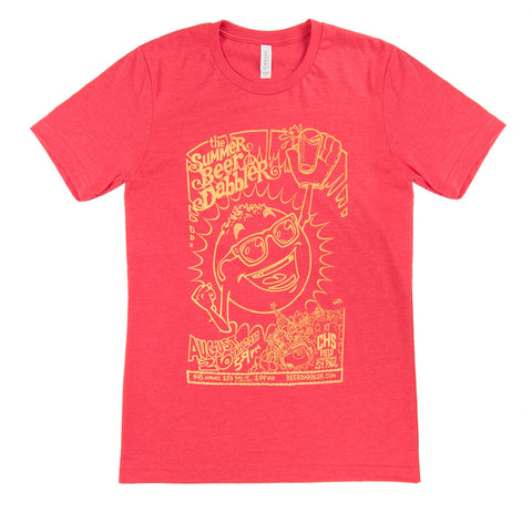 Summer Beer Dabbler Shirt - 2017 - Red