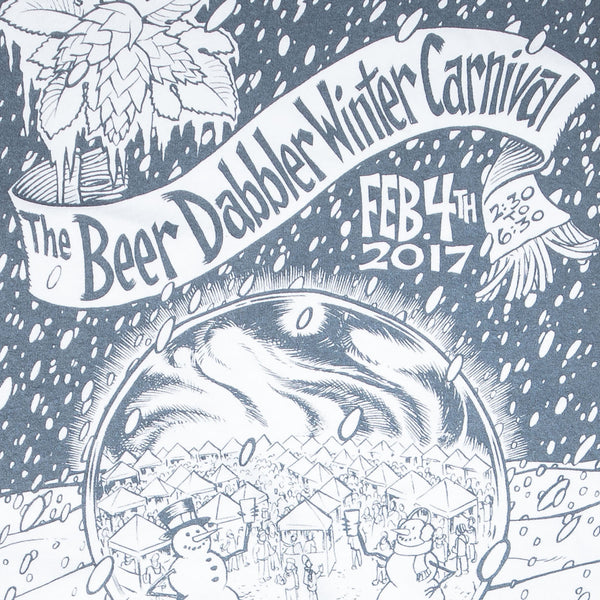2017 Winter Beer Dabbler Event T-Shirt