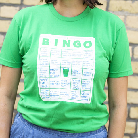 2017 Beer Dabbler State Fair Beer Bingo Event T-Shirt