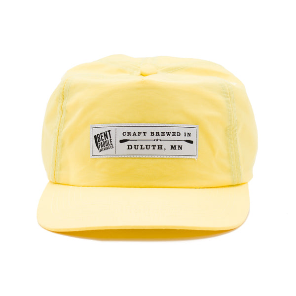 Bent Paddle Nylon Camp Hat (Yellow)