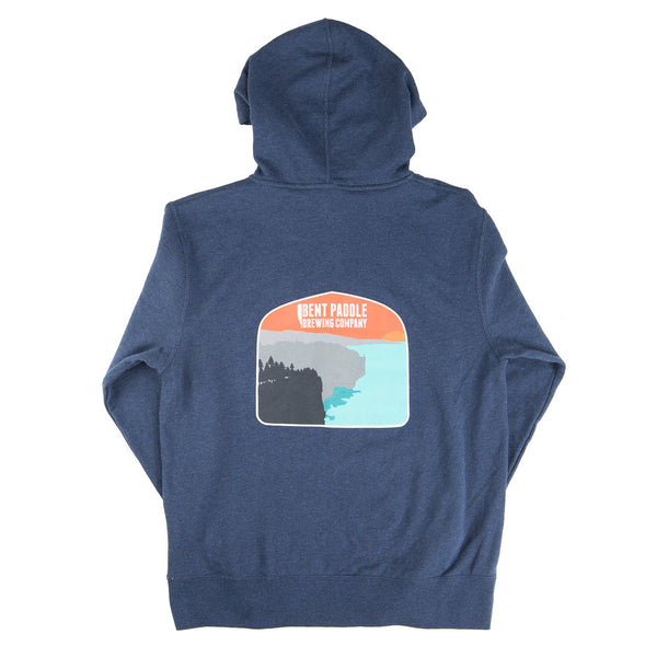 Bent Paddle Zip-Up Sweatshirt