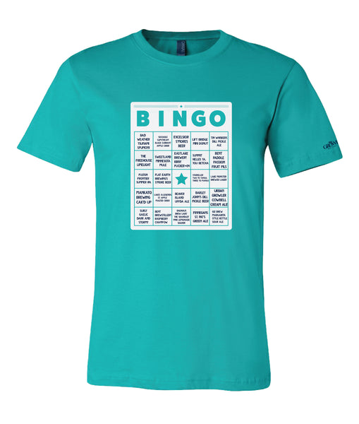 2018 Beer Dabbler State Fair Beer Bingo Event T-Shirt