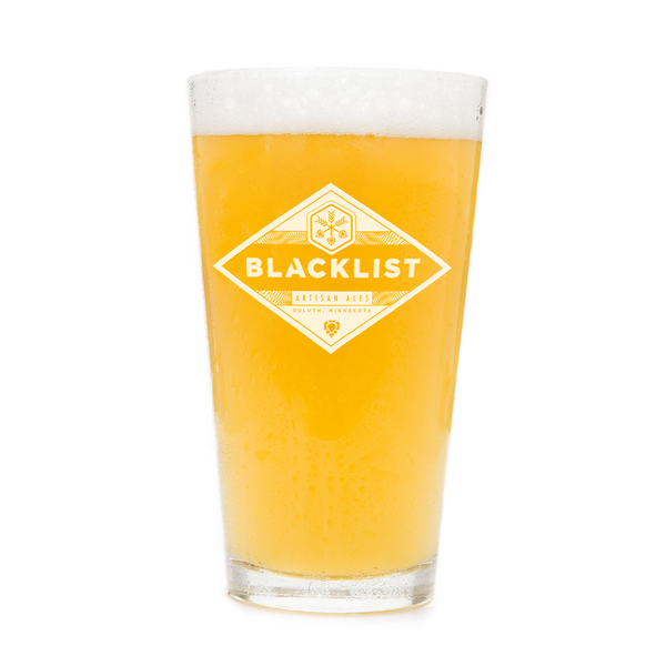 Blacklist Pint Glass