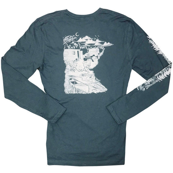 MN Camping by Adam Turman Long Sleeve T-Shirt