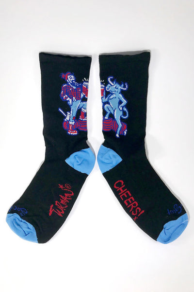 Adam Turman Paul & Babe Cheers Socks