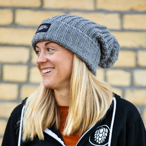 Beer Dabbler Knit Pom Hat