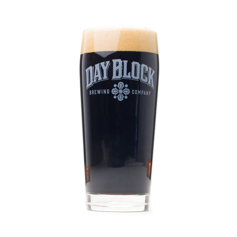 Day Block Brewing Pub Glass