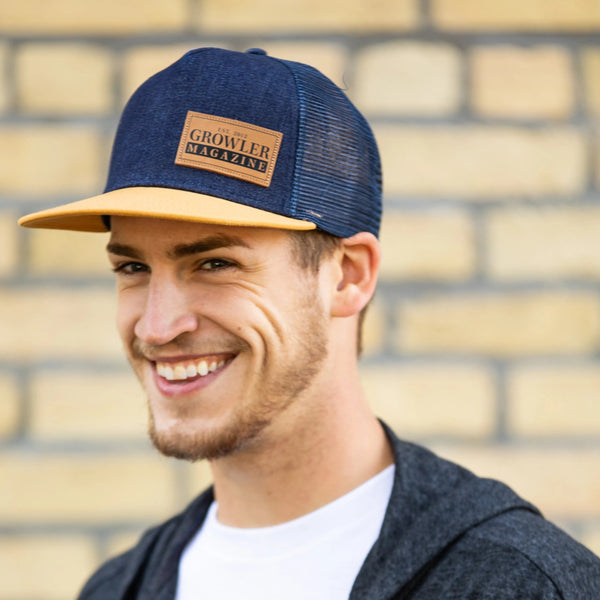 Denim Growler Magazine Hat