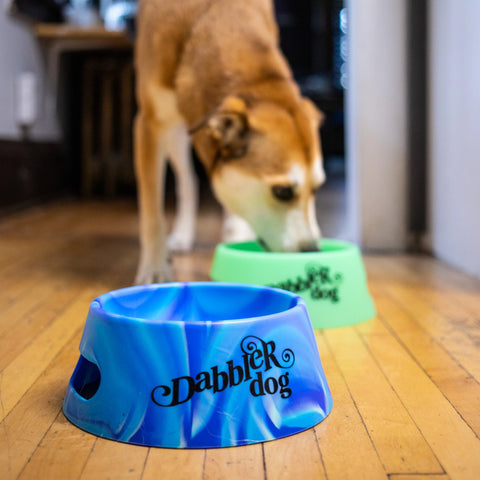 Dabbler Dog Silicone Bowl