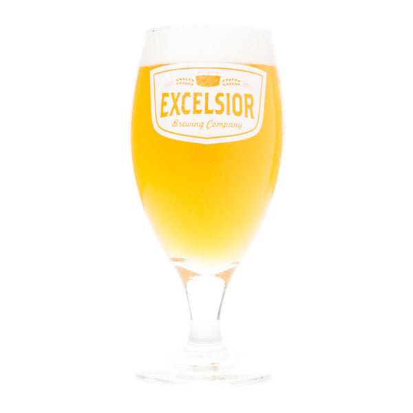Excelsior Brewing Company Tulip Glass