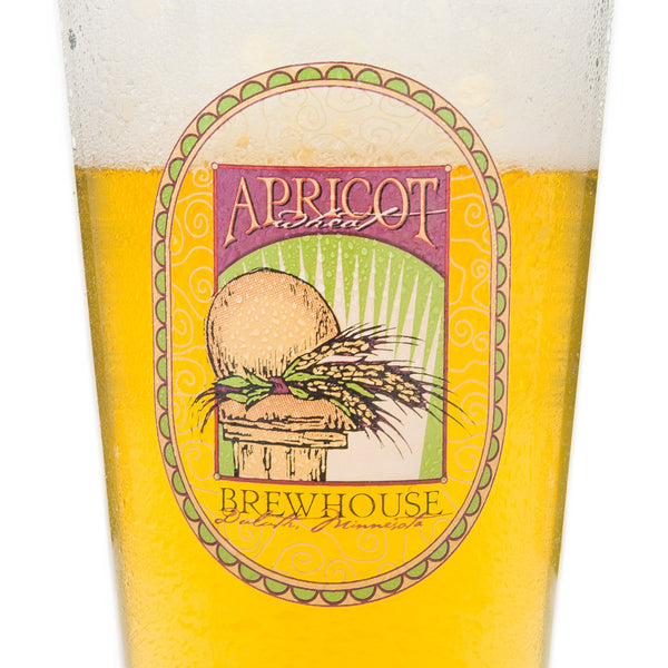 Fitger's Brewhouse Apricot Wheat Pint Glass