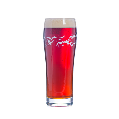 Flying Dog Tumbler Glass 10 oz