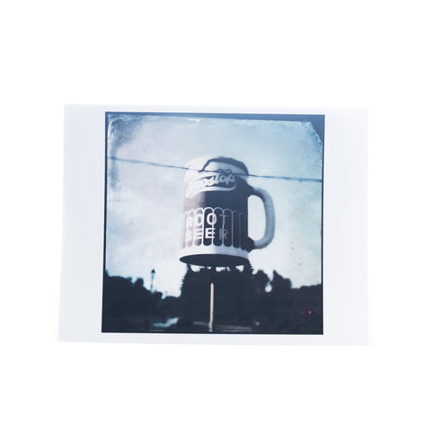 Frostop Root Beer Greeting Card by Tim Nyberg