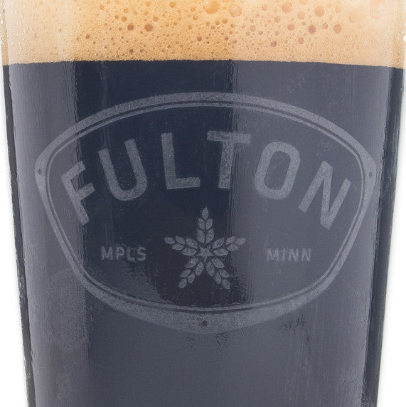 Fulton Pint Glass