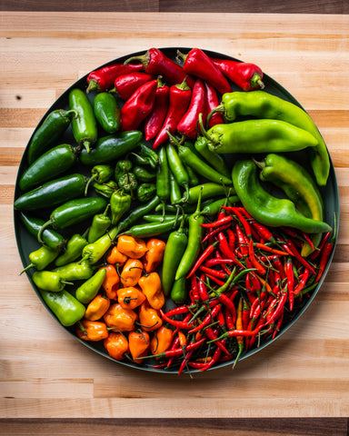 Fresh Chiles • Tj Turner