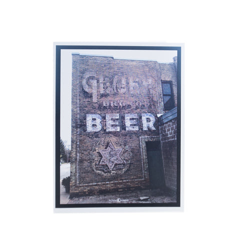 Gluek Beer Card by Tim Nyberg