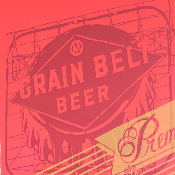 Grain Belt Sign by Adam Turman