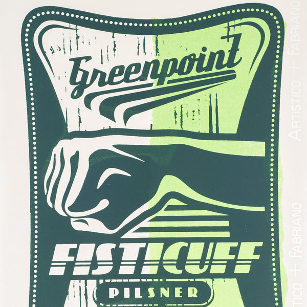 Greenpoint Fisticuff Pilsner by Nicholas Hartman