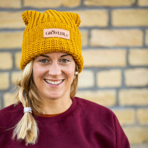 Growler Magazine Knit Pom Hat