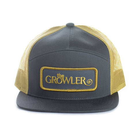 The Growler Flat Brimmed Trucker Hat