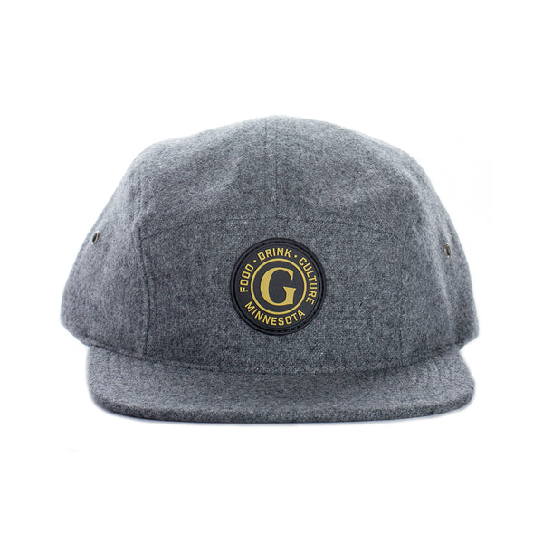The Growler Magazine 5 Panel Wooly Hat