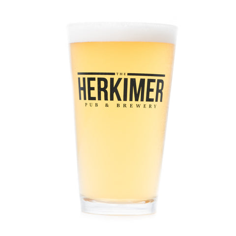 The Herkimer Pint Glass