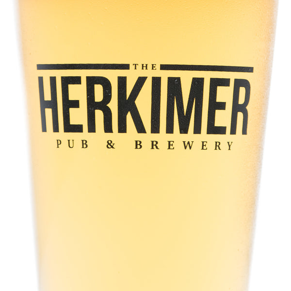 Herkimer Brewery Pint Glass