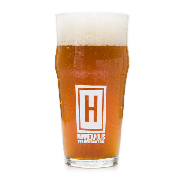 Herkimer Brewery Nonic Pint Glass