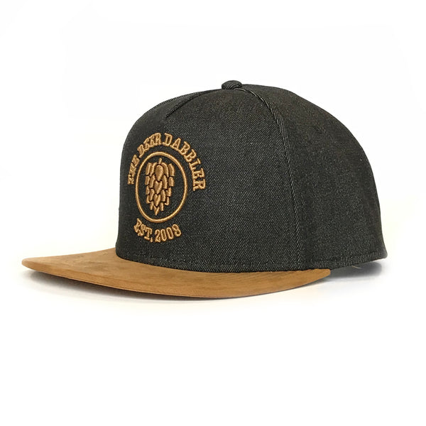 Denim Beer Dabbler Snapback
