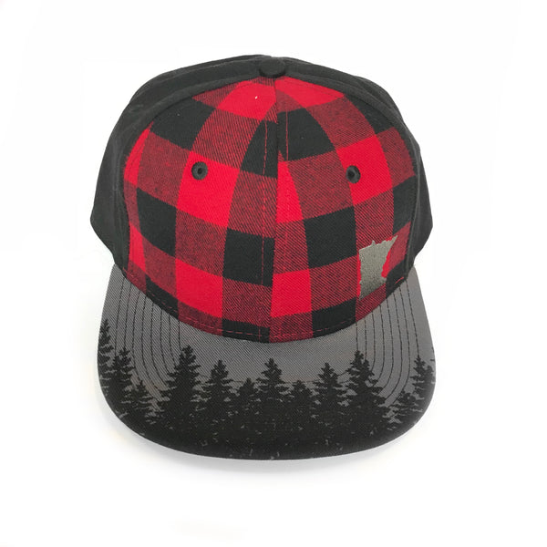 Minnesota Pine Plaid Hat