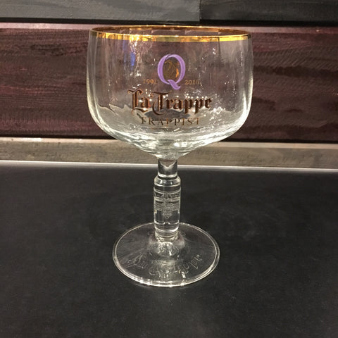 "La Trappe Goblet Glass ""25th Anniversary"""
