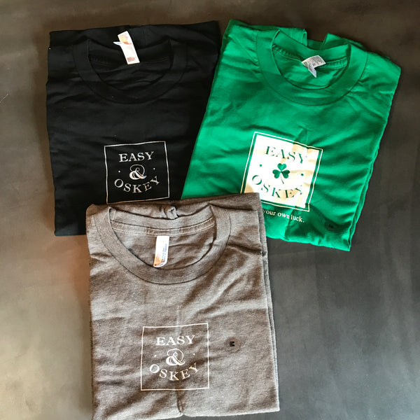Easy and Oskey T-Shirts - Multiple Colors!