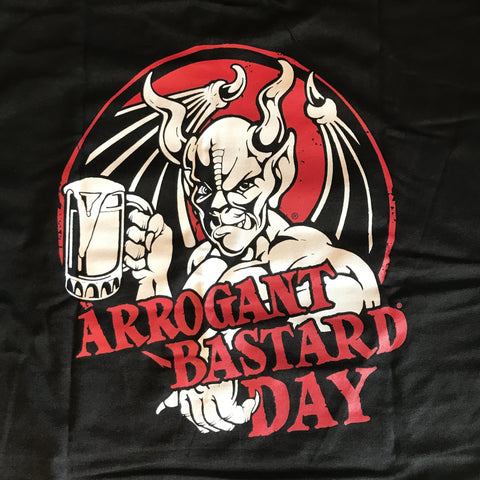 Stone Brewing Arrogant Bastard Day T-Shirt