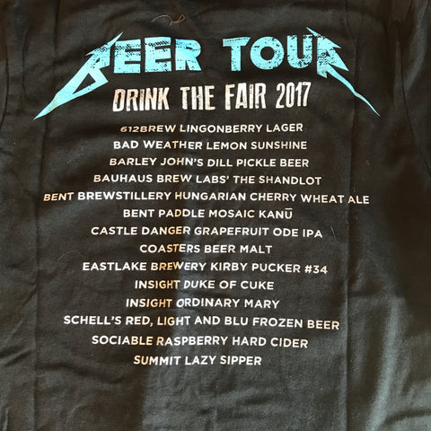Beer Dabbler Beer Tour T-Shirt