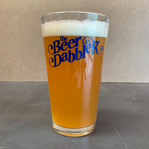 Beer Dabbler Logo Pint Glass