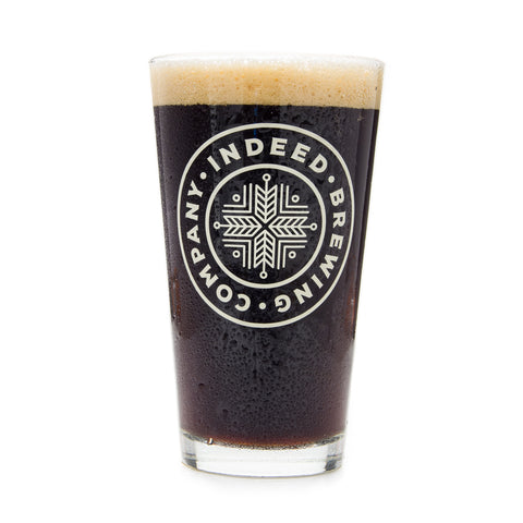 Indeed Brewing Pint Glass