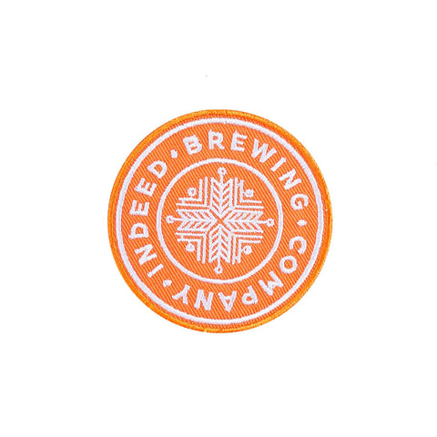 Indeed Brewing Company Logo Patch - Orange