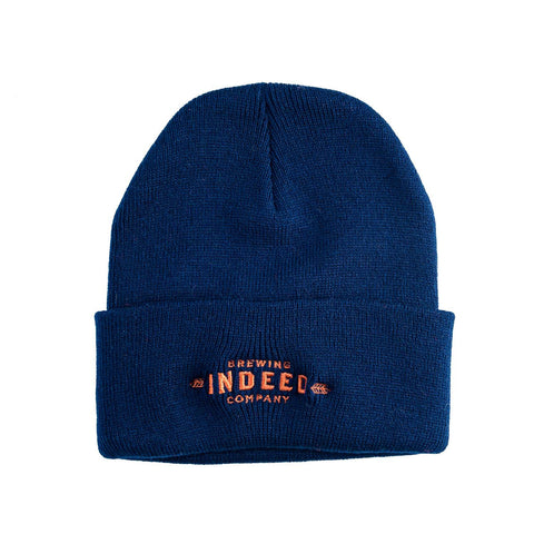 Indeed Brewing company cuffed beanie