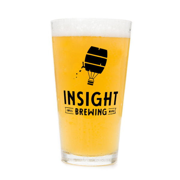 Insight Brewing Pint Glass