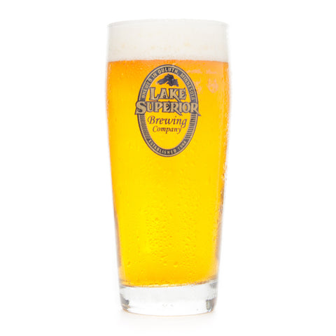 Lake Superior Brewing Company Pub Glass